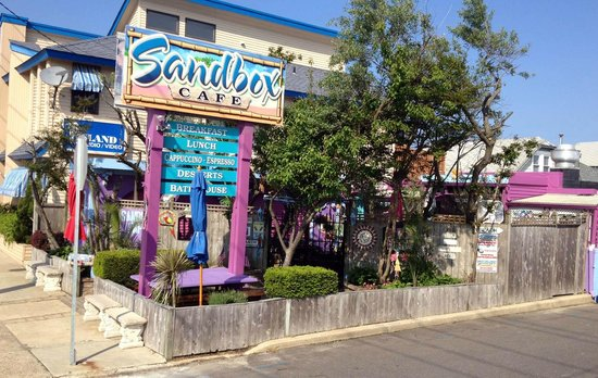 Sand Box Cafe: The Sandbox Cafe, 2604 Long Beach Blvd. Ship Bottom, NJ