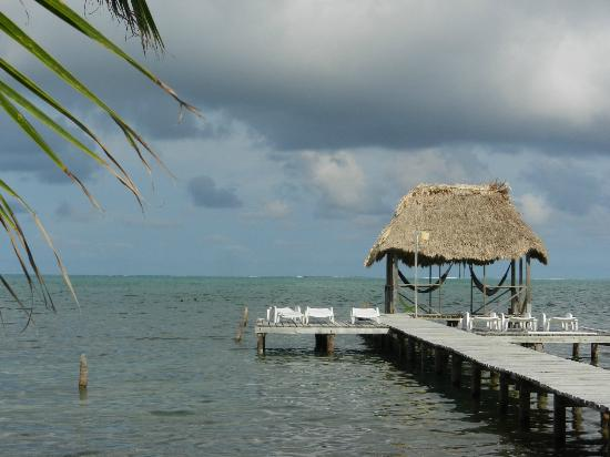 Barefoot Beach Belize: View from our porch