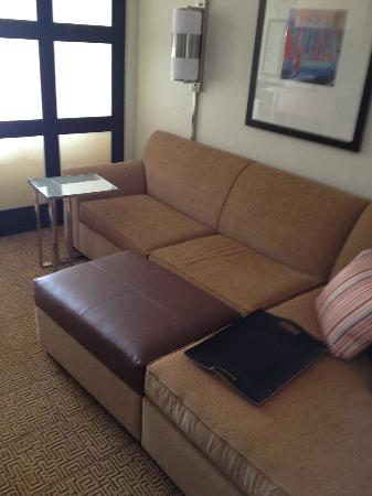 Hyatt Place Houston/Sugar Land: Sofa in the room