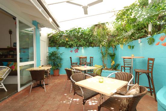 Coconut Grove: Courtyard (for private dining