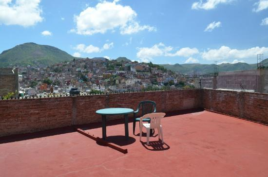 La Casa de Dona Ana : View from the rooftop
