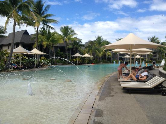 kids pool picture of intercontinental fiji golf resort. Black Bedroom Furniture Sets. Home Design Ideas
