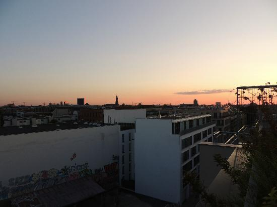 Wombat's Berlin: View from Bar/Patio