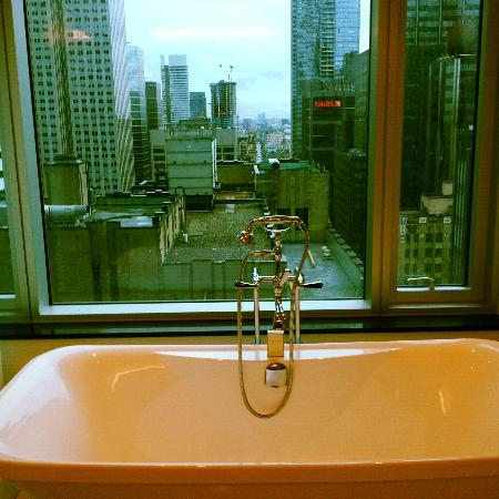 The Adelaide Hotel, Toronto: bathtub