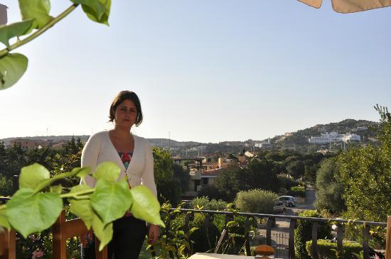 Colonna Park Hotel : Terraza comedor