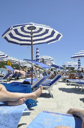 Colonna Park Hotel : Balneario de la playa del hotel
