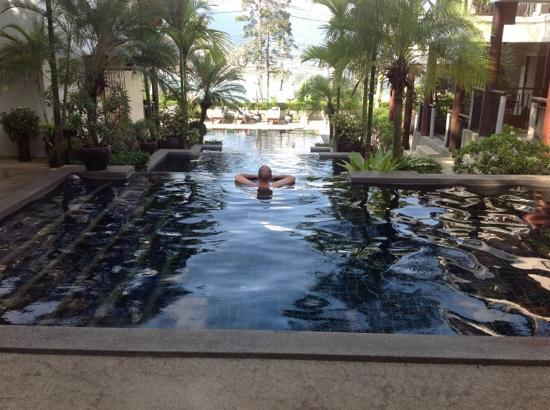 Baan Yin Dee Boutique Resort : the view from our room.