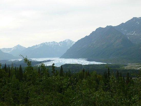 Matanuska Glacier from the Glenn Highway