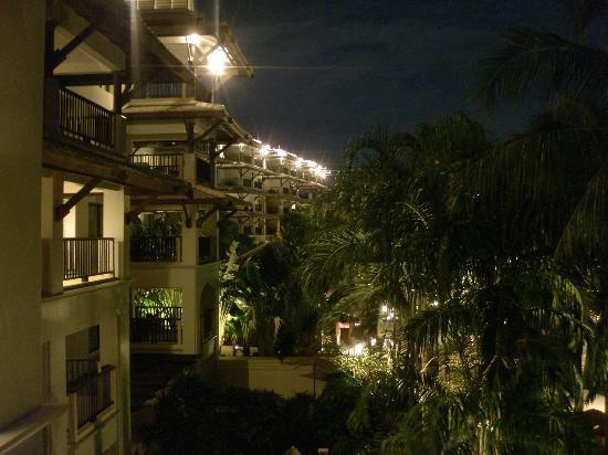 แมริออท ไม้ขาวบีช: View from our villa