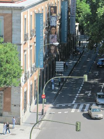 NH Collection Paseo del Prado: The Thyssen-Bornemisza, from our room