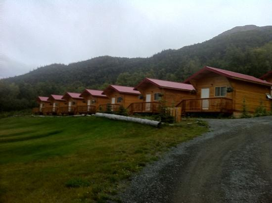 Knik River Lodge: the rooms