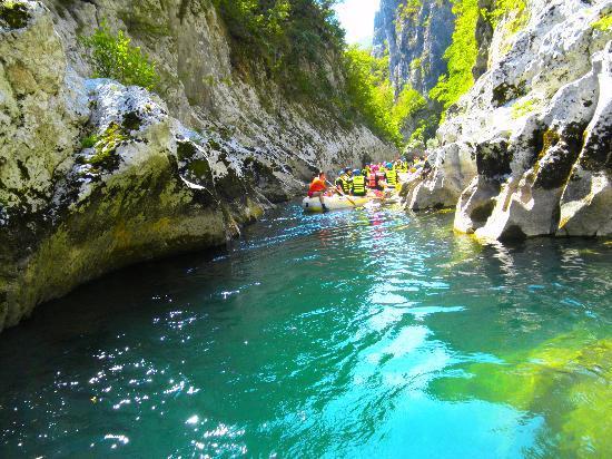 Izlaz Iz Malog Kanjona Rafting Na Neretvi Picture Of