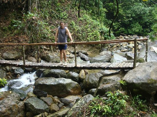 Rambala, Panama: Walkway Up to Property