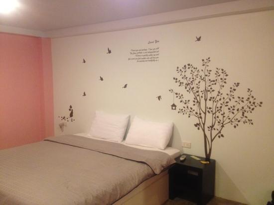 Dozy House: habitación rosa