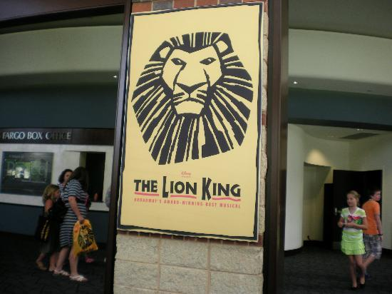 Broadway S The Lion King Picture Of The Peace Center Greenville