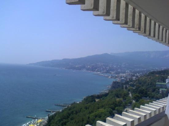 Yalta Intourist Hotel: Вид с 8 этажа