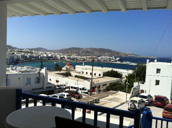 Stelios View Mykonos Town: View from public balcony