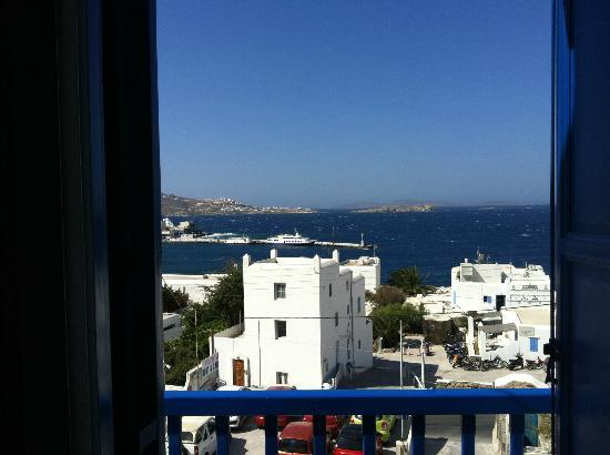 Stelios View Mykonos Town: View from the room