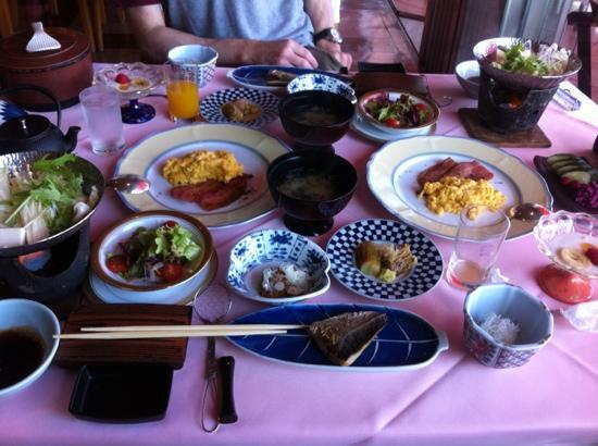 Mizuno Hotel : the amazing breakfast