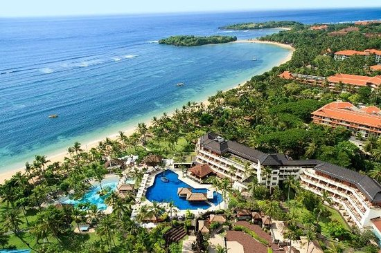 Nusa Dua Beach Hotel & Spa: Areal view