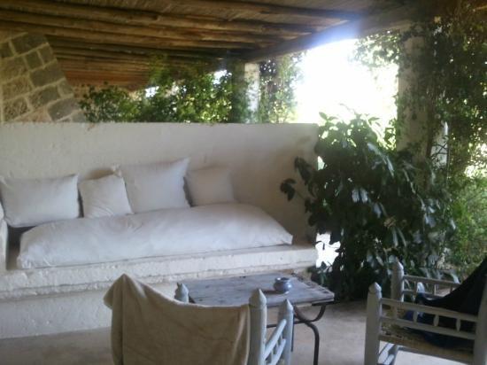 Masseria Don Cirillo: patio della camer
