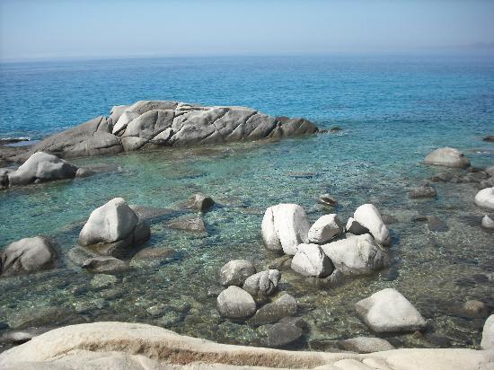 Mikri Vigla Beach: PROMONTORIO MIKRI VIGLA