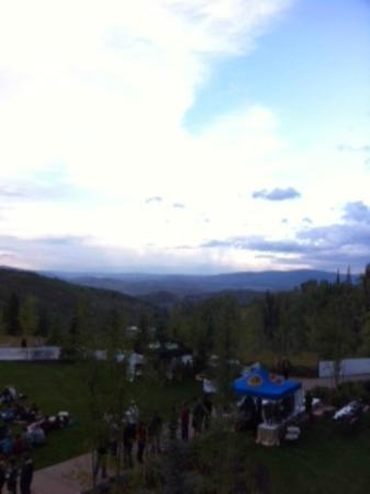 Montage Deer Valley: View from balcony.