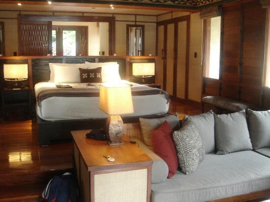 Likuliku Lagoon Resort: Bungalow