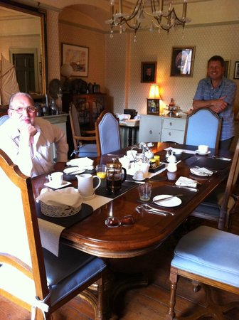 Remus B&B : Alan's smile and the beautiful breakfast