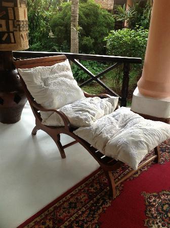 African House Resort: meine Liege ;-)