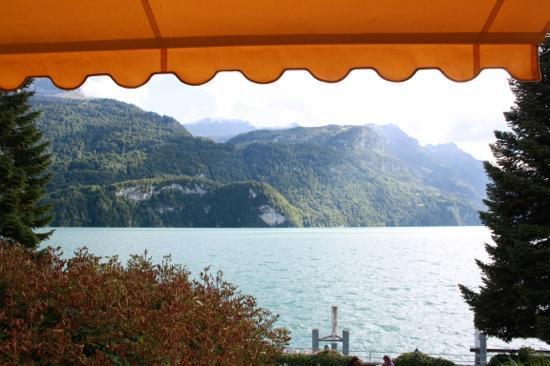 Seehotel Baren Brienz : view from balcony