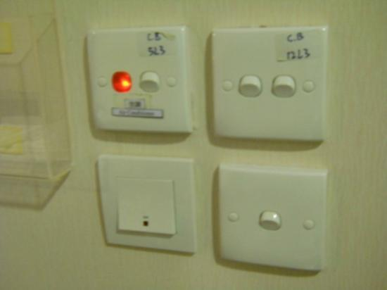 California Hotel HK: Switches
