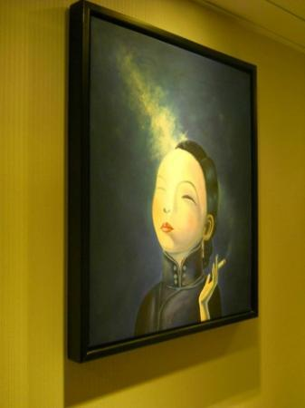 California Hotel HK: Painting