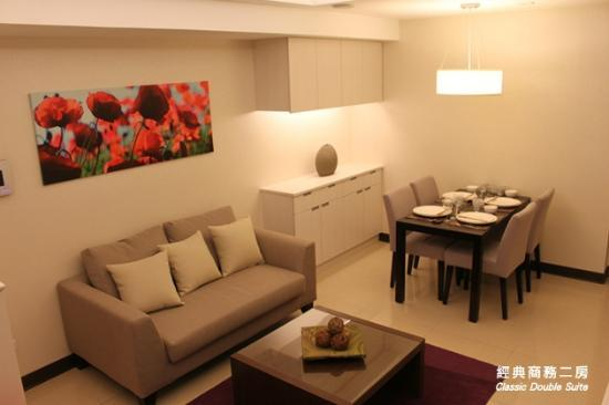 Taipei I-staytion Service Apartment I-Station: Living room