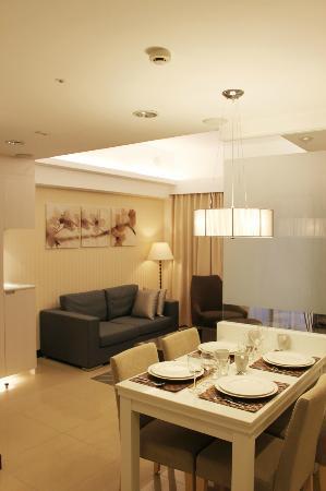 Taipei I-staytion Service Apartment I-Station: Restaurant View
