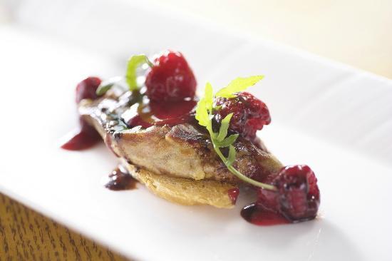 Tiffin Lounge (Grand Hyatt Hong Kong): Pan-fried Foie Gras