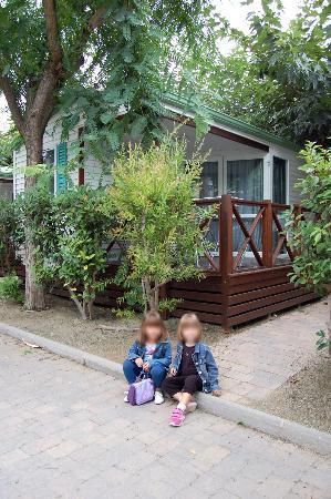 Camping Platja Cambrils: Bungalow Exterior