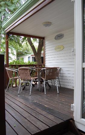 Camping Platja Cambrils: Porche