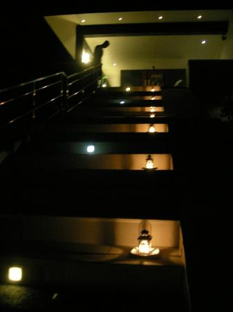 The Puncak: The entrance to the lobby