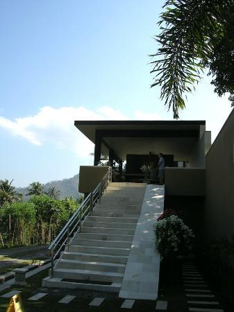 The Puncak: Entrance