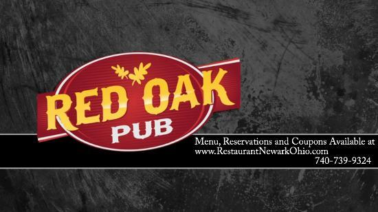 Red Oak Pub and Restaurant : Restaurant Newark OH