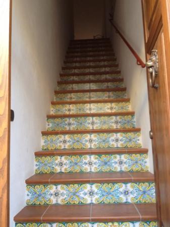 Kerkent: ingresso..sono le uniche scale da salire!!