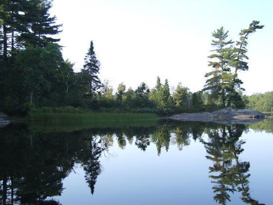 Britt, Kanada: Grundy lake