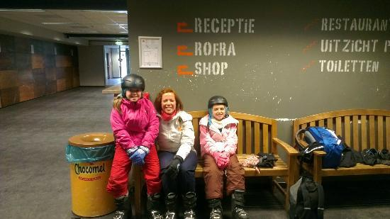 Center Parcs De Kempervennen: ready for first lesson