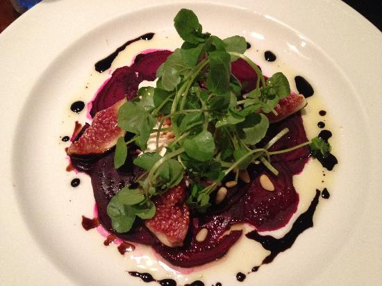 The Exchequer: roasted beet salad