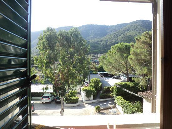Hotel Brigantino: vista dalla camera