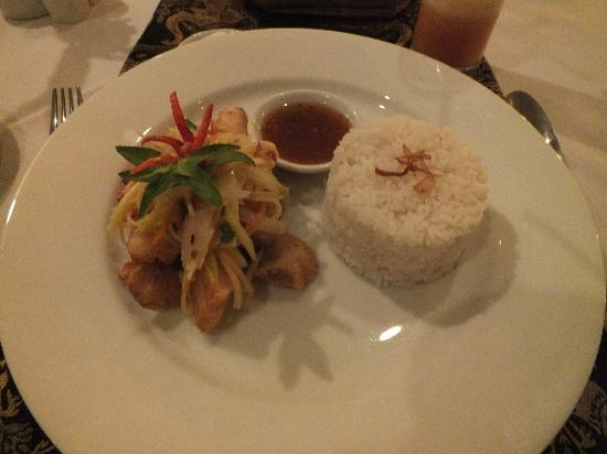 Angkor Palace Resort & Spa: Traditional Khmer fish