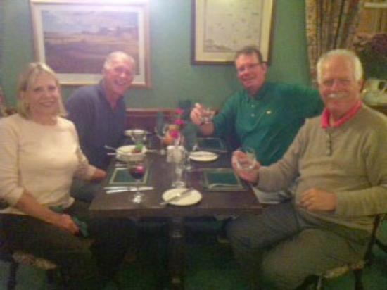 My friends and I enjoyed two lovely dinners at Sutherland House; its well worth a visit.