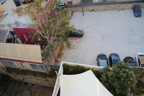 Atrion Hotel: Vista dalla stanza
