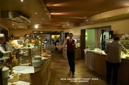 Romantik Hotel Freund & SPA-Resort: Abendbuffet